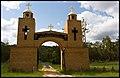 Entrance to St Shenouda Monastery-1+ (2142862825).jpg
