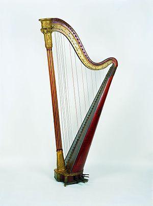 Can Llopis Romanticism Museum - Erard Frères. Harp. Paris, 1800-1830