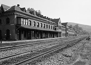 Susquehanna (Erie Railroad station) - Susquehanna station in 1971