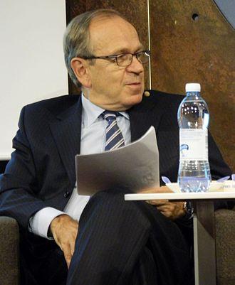 Erkki Liikanen - Image: Erkki Liikanen at Bank of Finland seminar, 2016 01