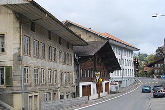 Erlenbach im Simmental - Erlenbach village