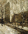 Ernest Lawson - The Flatiron Building, New York (01).jpg