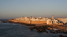 The walled Moroccan port of Mogadore (Essaouira)