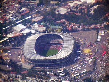 Estadio Azteca from above