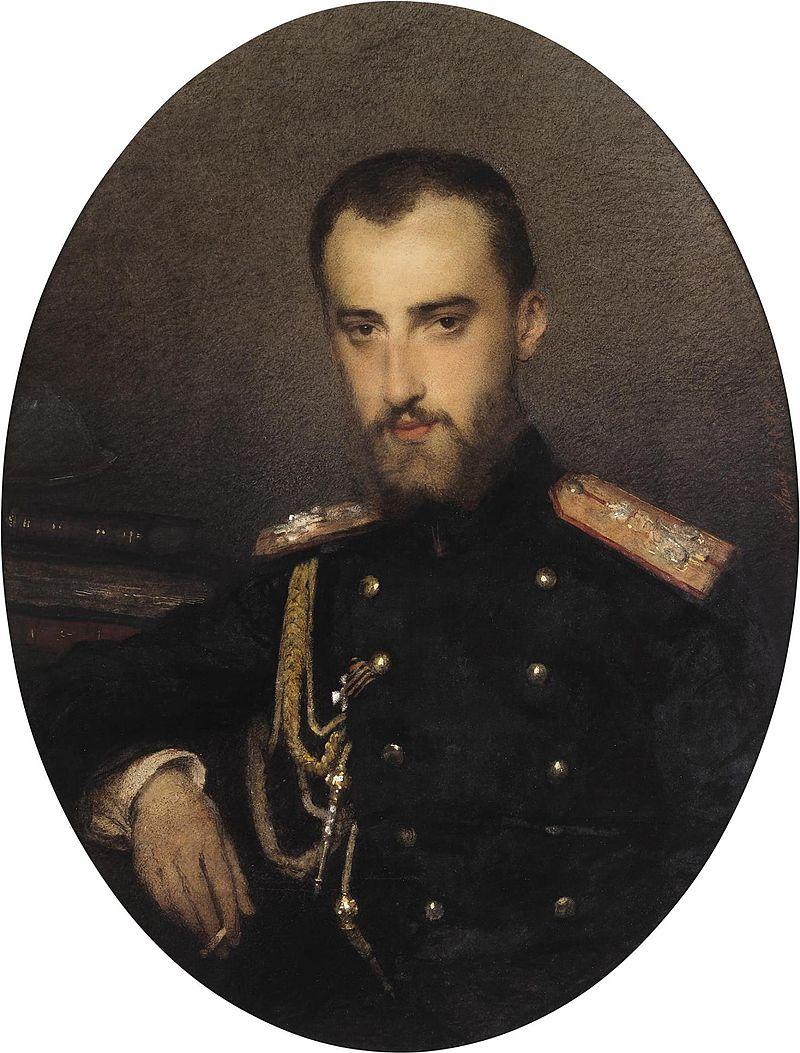Etlinger (Eristova) Мария Васильевна - портрет Великого Князя Николая Mikhailovich.jpeg
