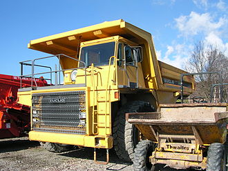 Euclid Trucks - A Euclid R60 Dump truck
