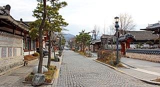 Jeonju Hanok Village Village