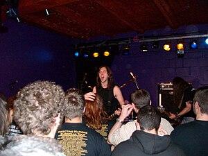 Evile - Evile live in Saarbrücken 2010