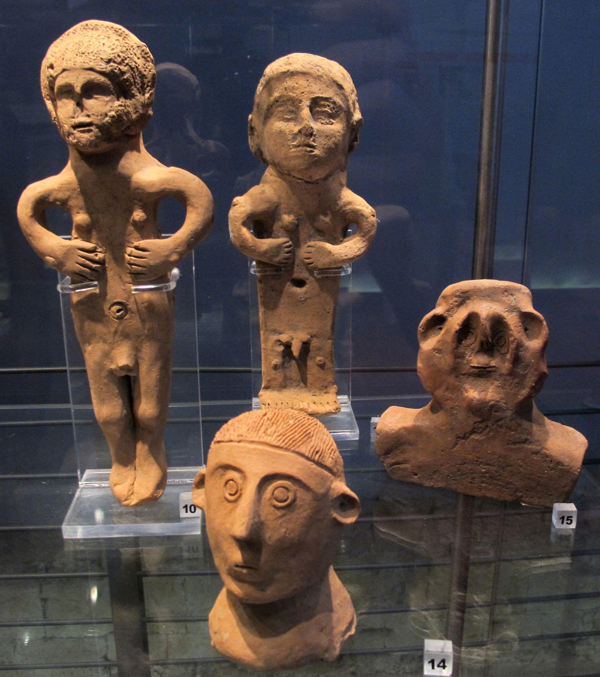 Ex-voto da stipe del cavone, ex-voto, III-II sec. ac. |Sovana, Museo di San Mamiliano