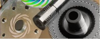 Spiral groove bearing Hydrodynamic bearings using spiral grooves to develop lubricant pressure