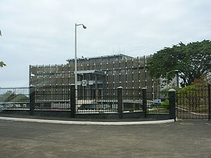President of Liberia - Executive Mansion in Monrovia, 2009