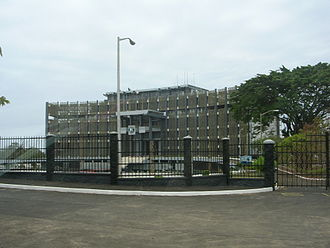 Politics of Liberia - The Executive Mansion has been the home of Liberian Presidents since its construction in 1964. It has not been used since a fire in 2006.