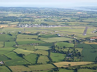 Exeter Airport - Aerial view