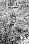 exterieur binnenzijde zuid, west ringmuur met afvoergoot - batenburg - 20310159 - rce