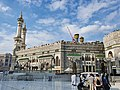 Exterior view of the Grand Mosque of Mecca, Saudi Arabia (7).jpg