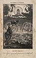 Ezekiel has a phantasmagorical vision of angels and spheres Wellcome V0034347.jpg
