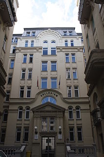 Széchenyi István College for Advanced Studies Private college in Budapest, Hungary