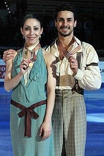 Federica Faiella ice dancer