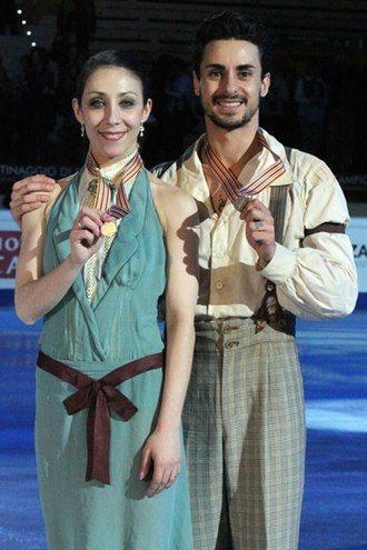Massimo Scali - Faiella/Scali at the 2010 Worlds