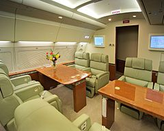 Marvelous Interior Cabin Of The VC 1A Reserved For VIP Guests And Authorities