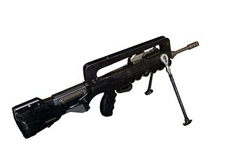 Armed Forces of Gabon - A FAMAS similar to this one is used by Gabon
