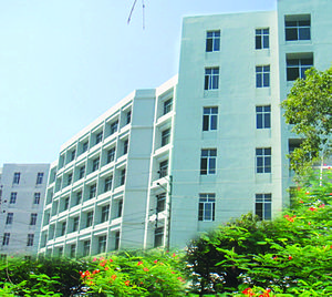 Jagannath University - Building of Faculty of Business Studies at Jagannath University.