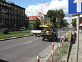 FSR Tarpan-based cherry picker on Zygmunta Krasińskiego avenue in Kraków (1).jpg