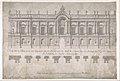 Façade of Palace decorated for the Marriage of the King of Naples to the Archduchess of Austria MET DP801608.jpg
