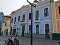 Façana d'edifici a la Plaça Italia de Lima.jpg