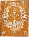 Fabrique de St. Ruf - Embroidery Design Commemorating the Marriage of Napoleon I and Marie-Louise - Google Art Project.jpg