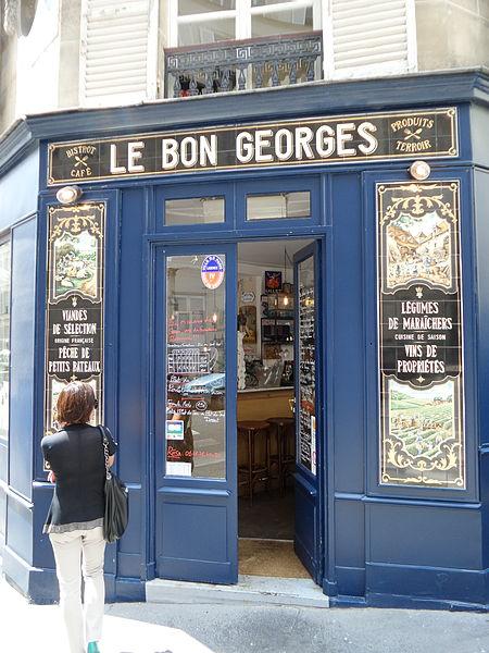 File:Facade bistrot Le Bon Georges.jpg