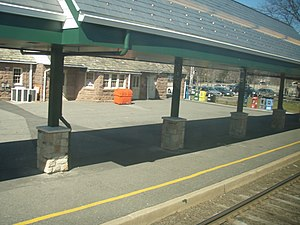 Fair Lawn, New Jersey - Radburn train station in Fair Lawn