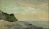 Falaise, soleil levant 1865 by Courbet AIC.png