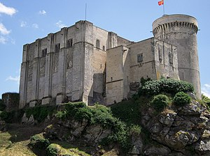 Arthur I, Duke of Brittany - Chateau de Falaise, where Arthur was imprisoned by John I