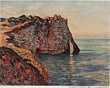 Falaises à Étretat by Claude Monet, 1885.jpg