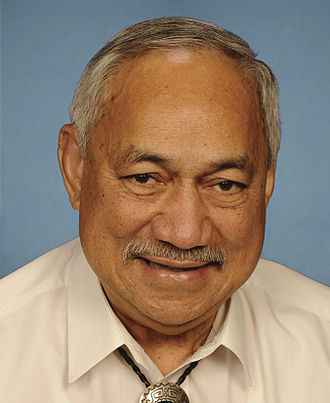 American Samoa's at-large congressional district - Image: Faleomavaega Portrait