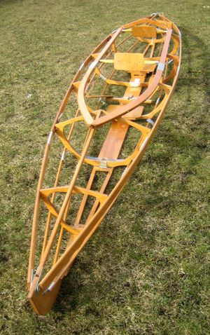 Folding kayak - Framework of a 2-man kayak