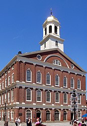 Faneuil Hall (Ostseite)
