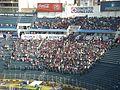 Fans des CF Atlante im Estadio Azul.jpg