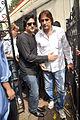 Fardeen Khan, Ali Khan at Dara Singh's funeral 07.jpg