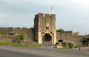 Farleigh Hungerford - Farleigh Hungerford Castle gateway