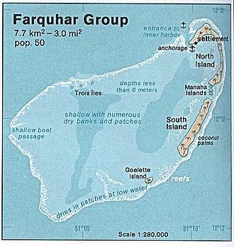 Farquhar Atoll - Image: Farquhar atoll