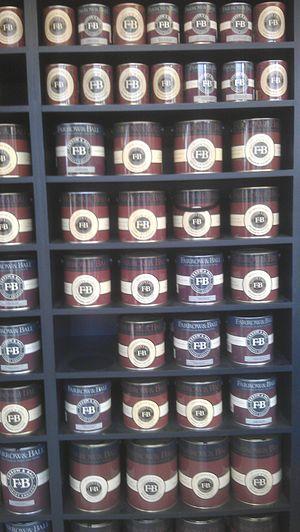 Farrow & Ball - Image: Farrow & Ball paint cans