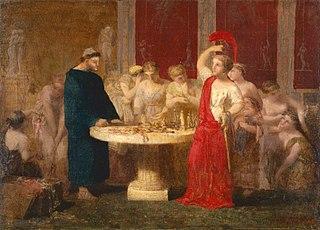 Achille découvert par Ulysse parmi les filles du roi Lycomède