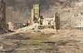 Fernand Sabatté - WW I - The Arras Belfry (1916).jpg