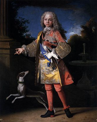 Jean Ranc - Portrait of Ferdinand of Bourbon (1713-1759), later King of Spain
