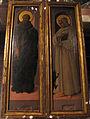 Filippo lippi e bottega, santo non identificato e san bernardo di chiaravalle, 1450-65 ca..JPG