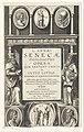 Filosofen Zeno en Cleanthes Titelpagina voor Justius Lipsius, L. Annaei Senecae Philosophi Opera, 1632, RP-P-OB-9575.jpg