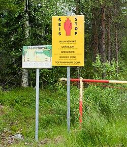 Suomen Ja Venajan Raja Wikipedia