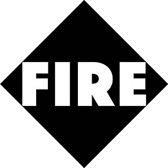 Fire Records (UK) - Image: Fire Logo